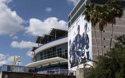 Amalie Arena nella Florida U.S.A. di Tampa immagini stock libere da diritti