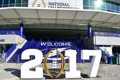 Amalie arena 2017 Tampa Obraz Royalty Free