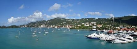 Amalie di Charlotte, noi le Isole Vergini fotografia stock libera da diritti