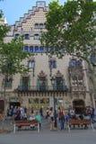 Amalie House Barcelona, Spanien Royaltyfri Bild