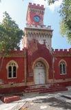 Форт Кристиан в Шарлотте Amalie St. Thomas Стоковое Изображение