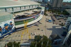 Amalie stadium Tampa FL anteny wizerunek Obrazy Stock