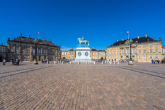 amalienborg哥本哈根丹麦宫殿 免版税库存图片