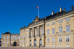 amalienborg哥本哈根丹麦宫殿 库存照片