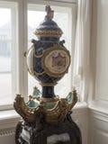 Amalienborg城堡,哥本哈根内部  免版税库存图片