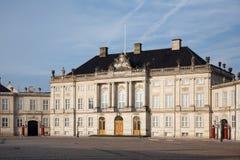 amalienborg κάστρο Στοκ φωτογραφία με δικαίωμα ελεύθερης χρήσης