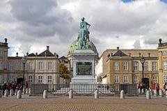 Amalienborg castle, copenhagen royalty free stock image
