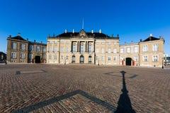 Amalienborg Castle Stock Image