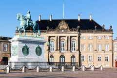 Amalienborg Castle Stock Photo