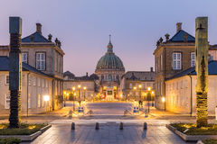 Amalienborg Cepenhagen Denmark Royalty Free Stock Photos