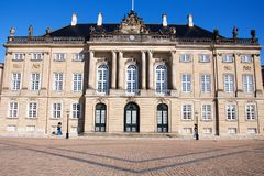 Amalienborg, Copenhagen Stock Photos