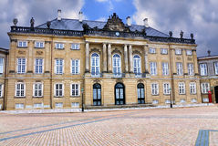 Amalienborg, Copenhagen, Denmark Stock Photography