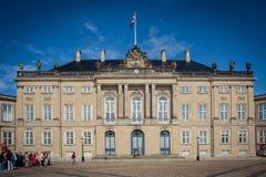 Amalienborg in Copenhagen, Denmark Royalty Free Stock Images