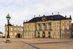 Amalienborg, Copenhagen Royalty Free Stock Images