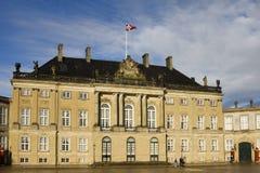 Amalienborg, Copenhaghen Fotografia Stock Libera da Diritti