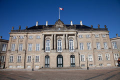 Amalienborg Palace Stock Photography