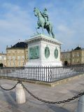 Amalienborg Palace stock images