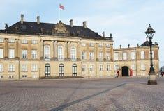 Amalienborg palace Stock Image