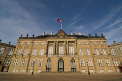 Amalienborg Palace in Copenhagen Stock Photo