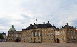 Amalienborg Palace, Copenhagen Stock Photography