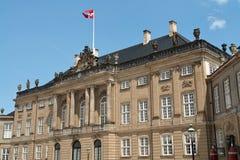 Amalienborg Palace in Copenhagen Denmark Stock Images