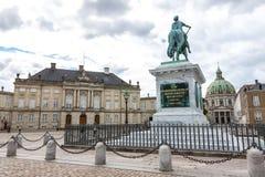 Amalienborg Palace, Copenhagen, Denmark Royalty Free Stock Photos