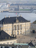 Amalienborg Palace, Copenhagen Denmark Stock Photo