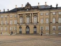 Amalienborg Palace, Copenhagen Denmark Stock Photos