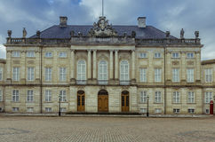 Amalienborg Palace in Copenhagen Royalty Free Stock Photo