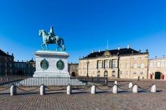 Amalienborg Palace Stock Photo