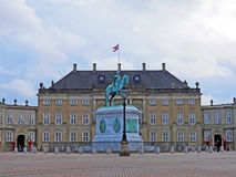 Amalienborg Palace Square Stock Photos