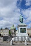 Amalienborg - Queens Residence Royalty Free Stock Photo