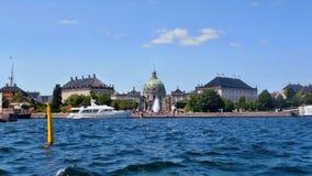 Amalienborg slott Royaltyfri Foto