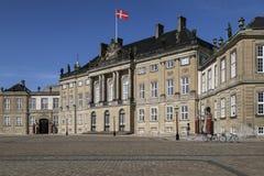 Amalienborgpaleis - Kopenhagen - Denemarken Royalty-vrije Stock Afbeelding