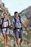 Amam caminhar junto fotos de stock royalty free