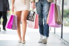 Amamos el hacer compras Imagen de archivo libre de regalías