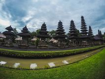 Aman Ayun Temple στο Μπαλί στοκ φωτογραφίες