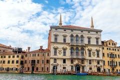 Aman Canal Grande Venice Veneto Arkivbild