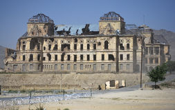 aman darul南部门面的宫殿 免版税库存照片