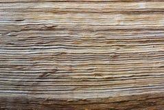 Łamana drewniana tekstura fotografia stock
