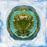 Łamana planety ziemia Zdjęcia Stock