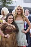 Amanda Bynes et Nikki Blonsky Photographie stock