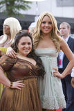 Amanda Bynes and Nikki Blonsky Stock Photography