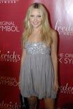 Amanda Bynes sur le tapis rouge. image stock