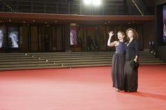 Amanda e Stefania Sandrelli Immagini Stock Libere da Diritti