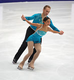 Amanda Evora and Mark Ladwig (USA) Stock Images