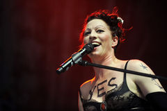 Amanda Palmer Royalty Free Stock Photography