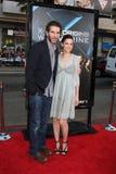 Amanda Peet, David Benioff Zdjęcie Royalty Free