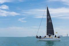 Amanda Platu class sailor Stock Photo