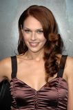 Amanda Righetti. At the Los Angeles Premiere of 'Friday the 13th'. Grauman's Chinese Theatre, Hollywood, CA. 02-09-09 Royalty Free Stock Photos